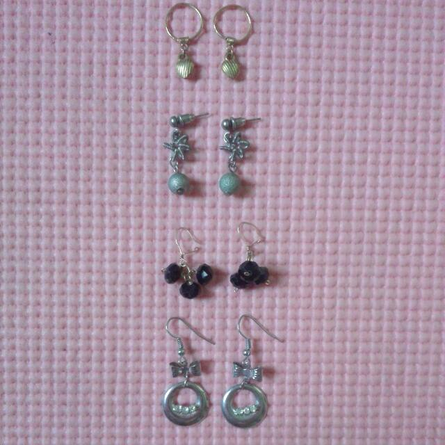 Take All Dangling Earrings For Only Php30