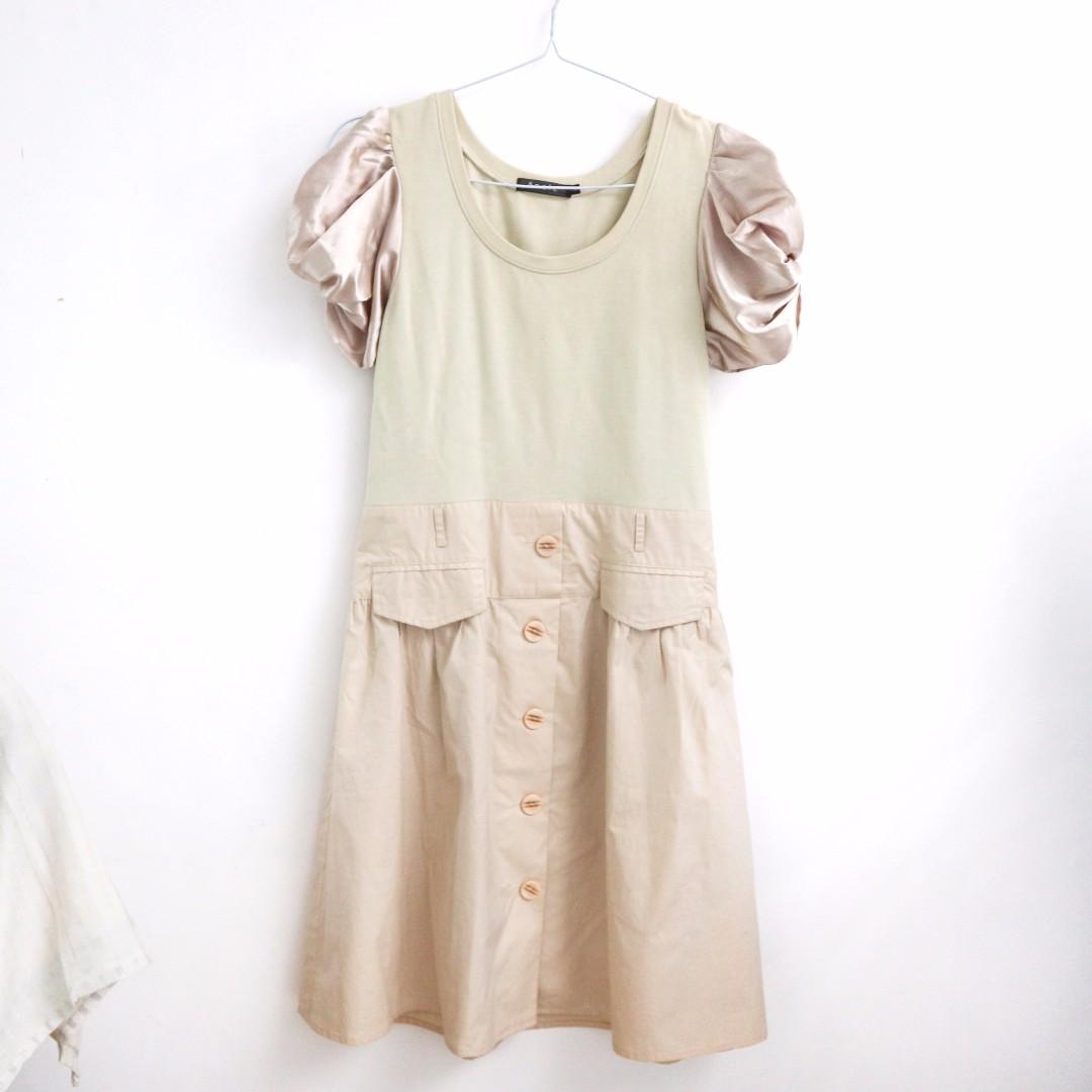 Ecole Cream Dress