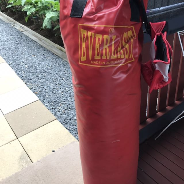 Everlast Red Heavy Boxing Bag