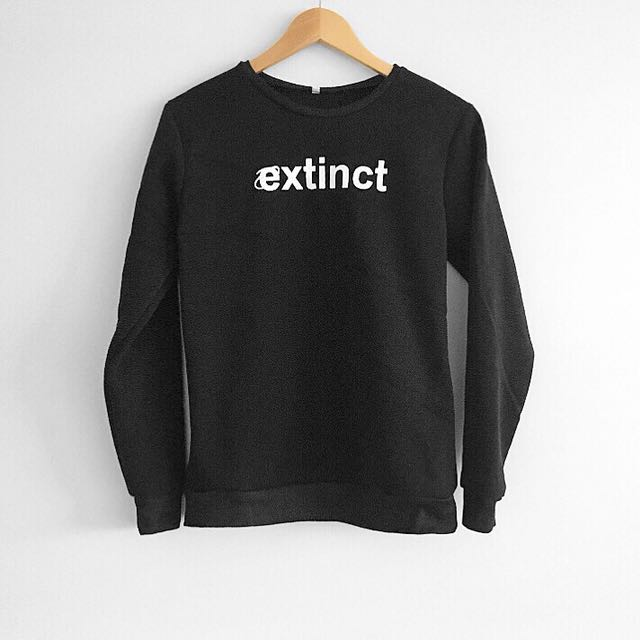 Extinct black sweater