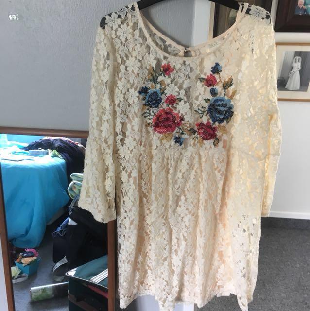 Festival Forever 21 Lace Summer Dress