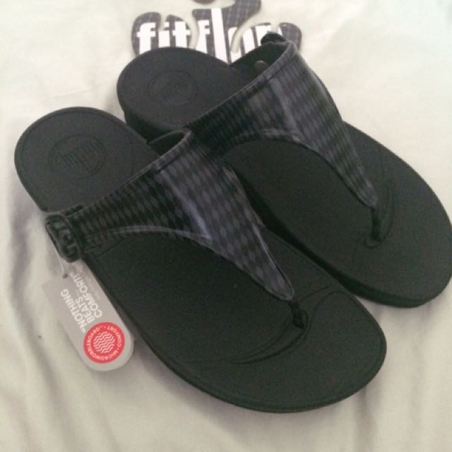 Fitflop superjelly charcoal US 6 brand new