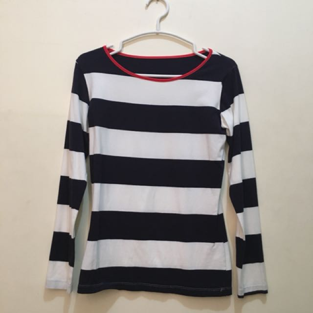 Fitted Striped Longsleeves