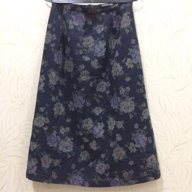 Flower Midi Skirt 7/8 #Midnightsale