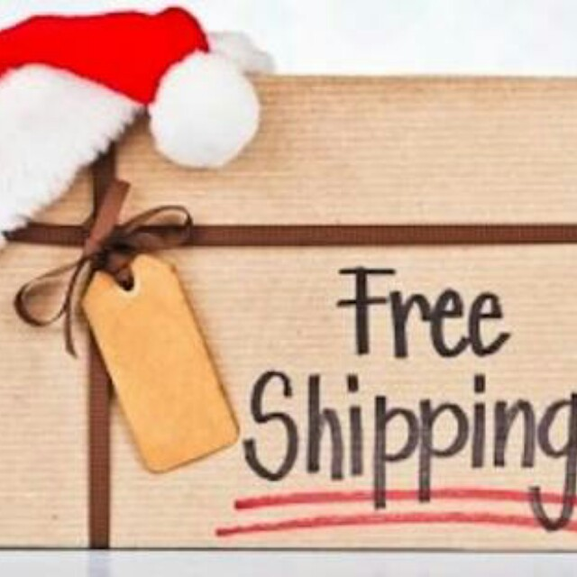 Free shipping on all my items