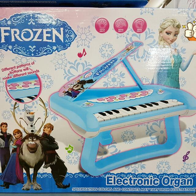 Frozen Piano Electronic Organ