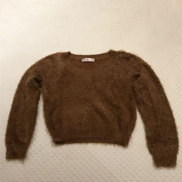 Fuzzy sweater from urban outfitters