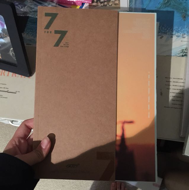 Got7 7 for 7 jb lyric book album