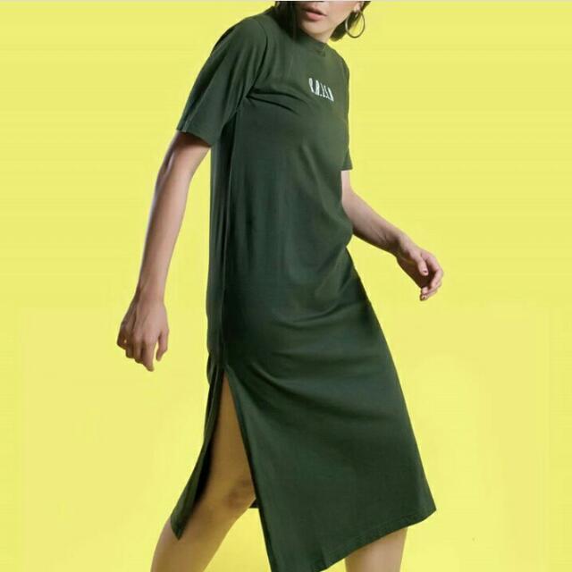 Green Long Tshirt & Black Long Tshirt