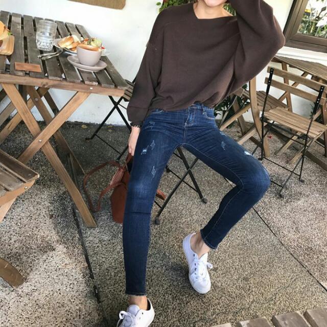 (全新降價)Hachu 沒理由不愛ㄉ褲褲  牛仔褲