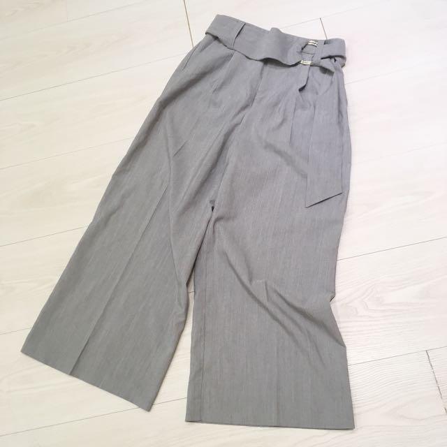 日牌Heather 圓釦環西裝寬褲