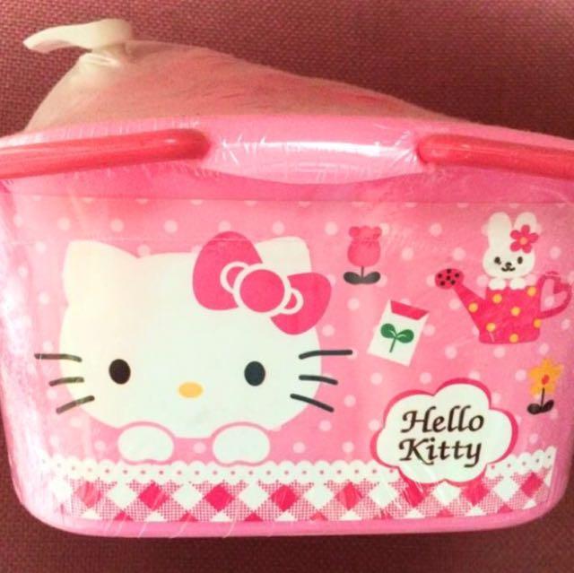 Hello Kitty Bath Stuffs / Perlengkapan Mandi