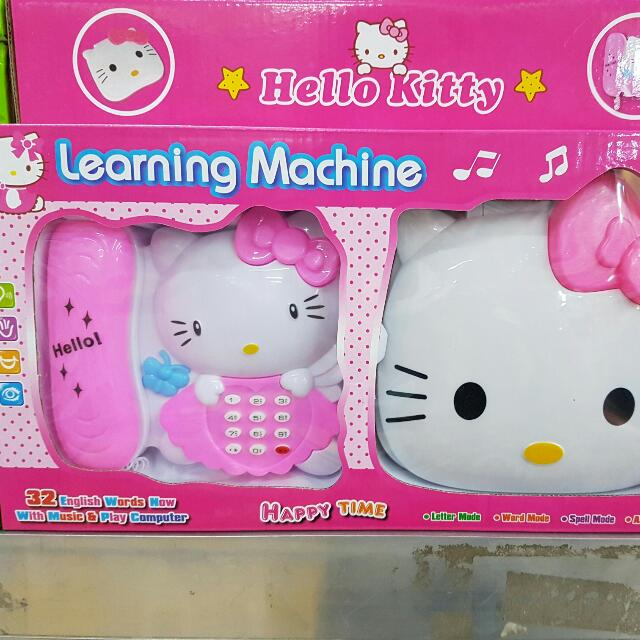Hello Kitty Learning Machine with Telephone