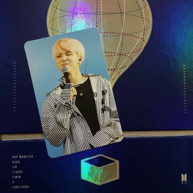 Help Looking For The Wings Tour 2017 BTS Live Trilogy Episode III In Seoul Jimin Photocard 