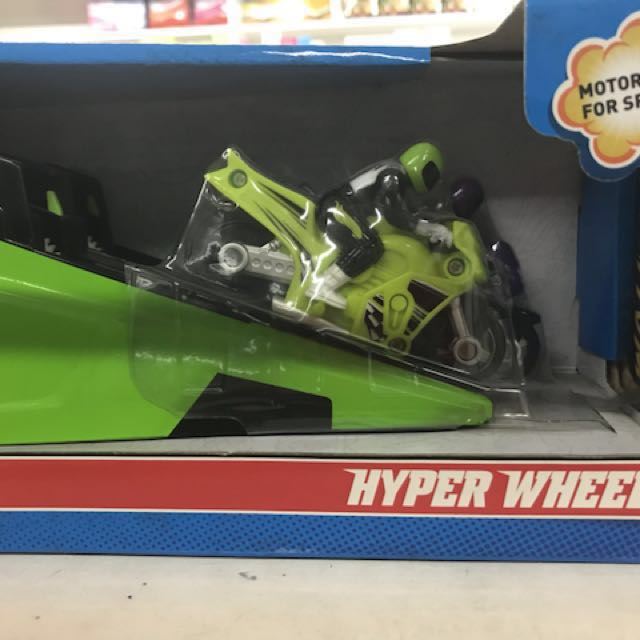 HYPERWHEELS MOTORCYCLE by Hotwheels