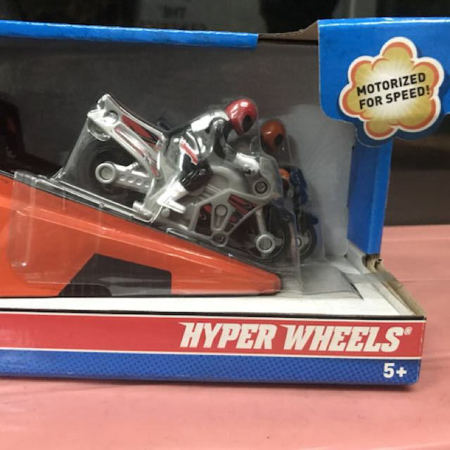 HYPERWHEELS MOTORCYLCE by Hotwheels