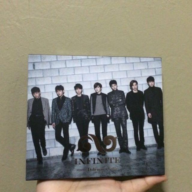 Infinite Dilemma Japanese Album
