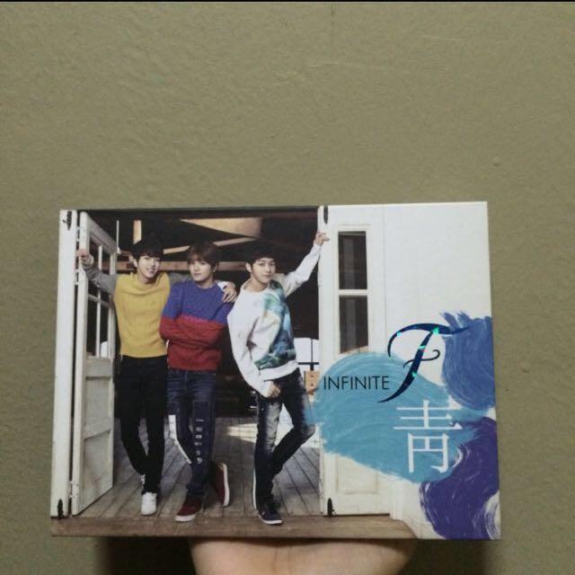 Infinite F 1st Album Azure