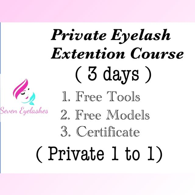 Intensive Eyelash Extention Course