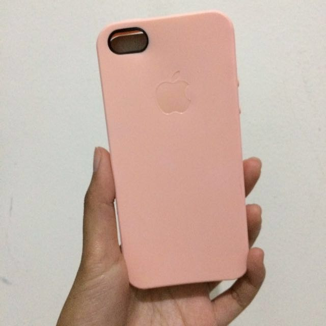 iPhone 5/5S/5G/SE Soft Case - Pink Coral