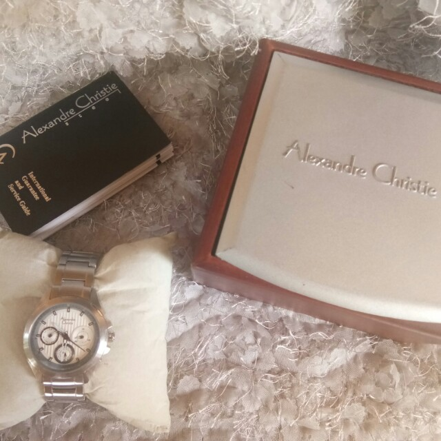 Jam Tangan Alexandre Christie Luxury Watches On Carousell