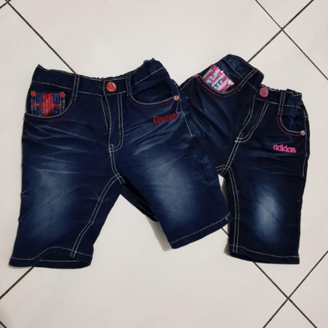 Jeans anak karet