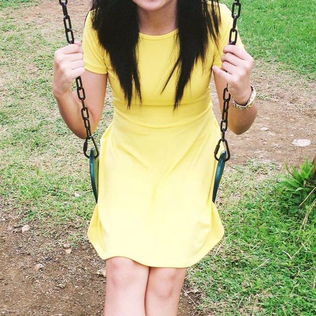Jellybean Yellow Dress