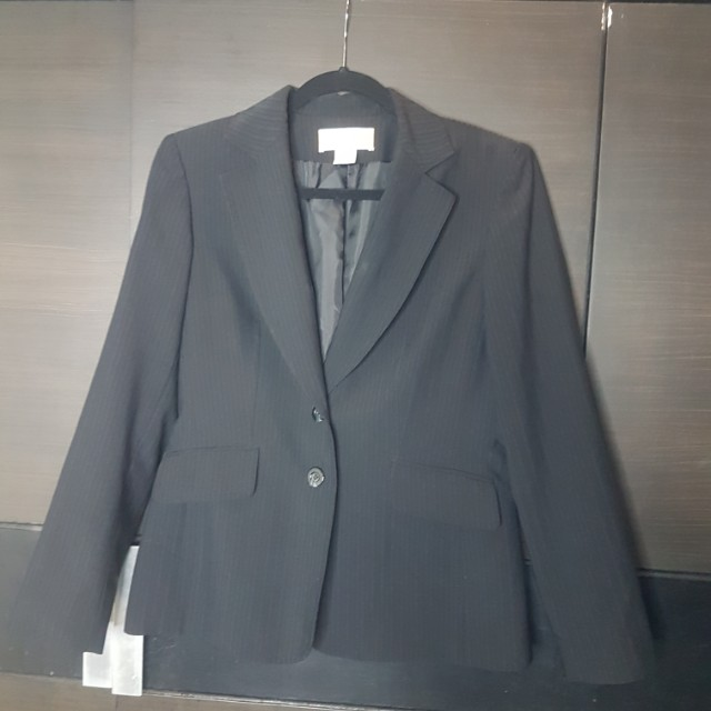 Jones new York black suit jacket