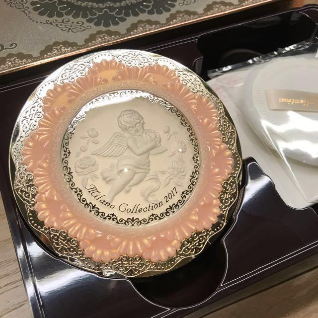 全新Kanebo日本購入2017 米蘭天使蜜粉Milano collection粉餅