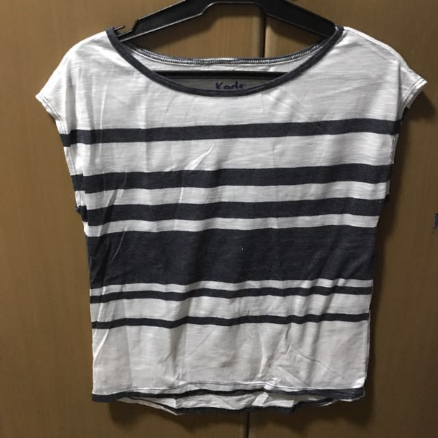 KEDS stripe shirt - small