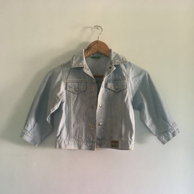 Kids Benetton Denim Jacket
