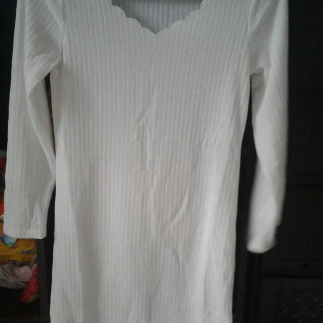 knitted dress / longsleevee