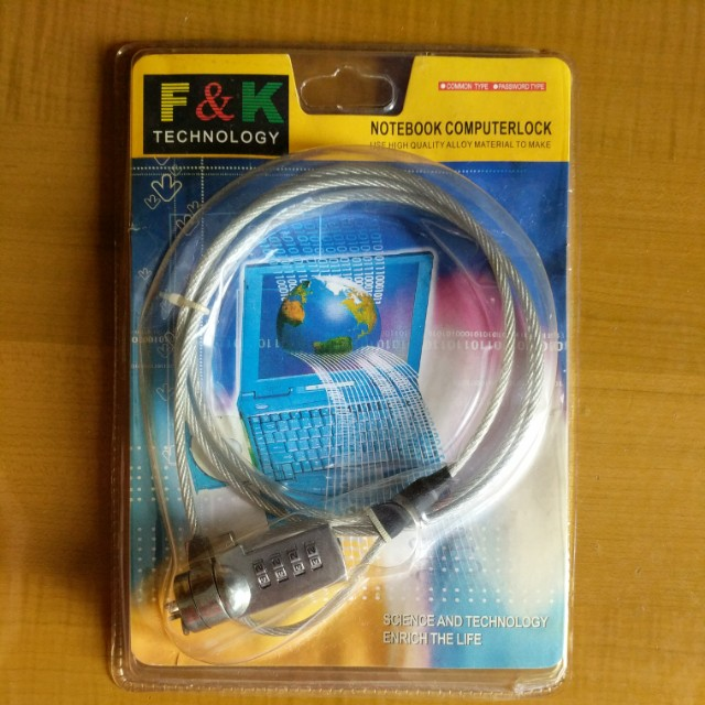 Laptop Lock BNIB