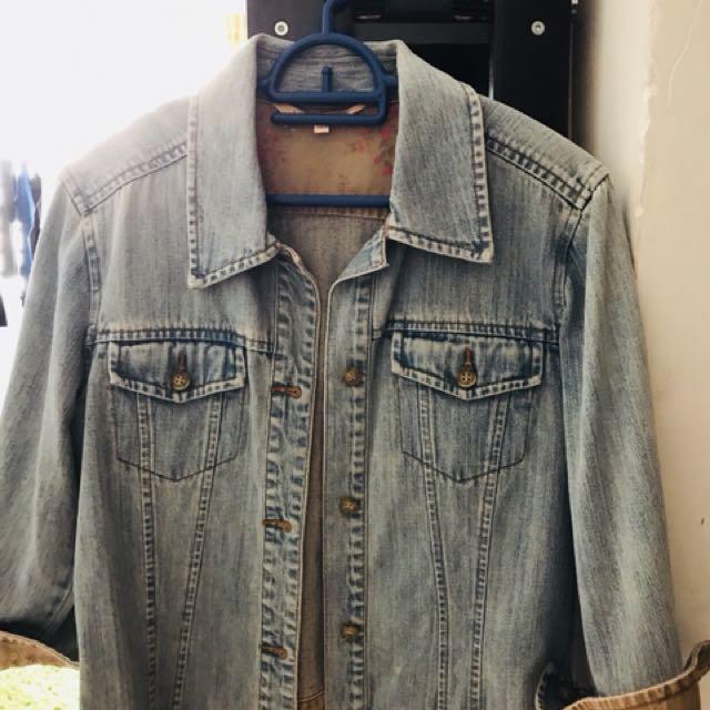 Laura Ashley Jeans Jacket
