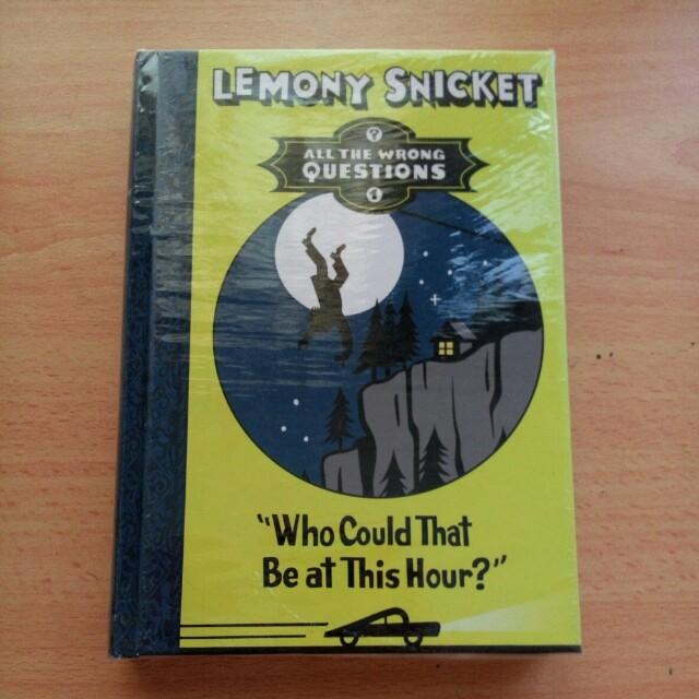Lemony Snicket Book