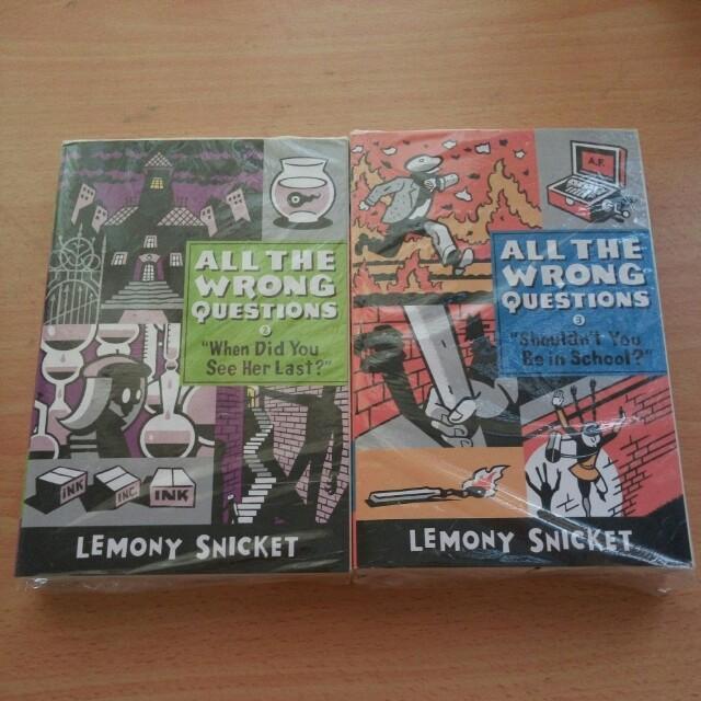 Lemony Snicket Combo
