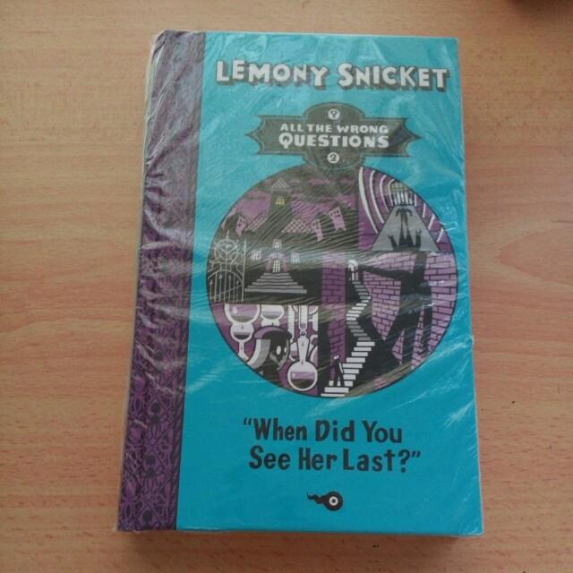 Lemony Snicket Hardcover
