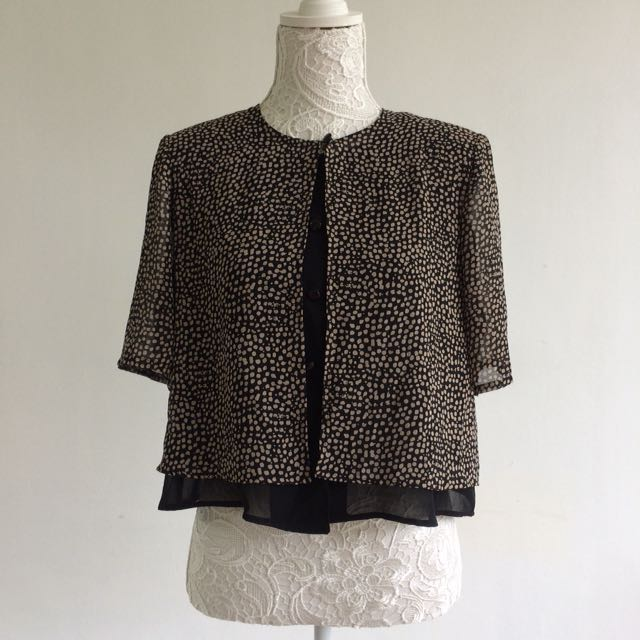 Leopard Print Inspired Blouse