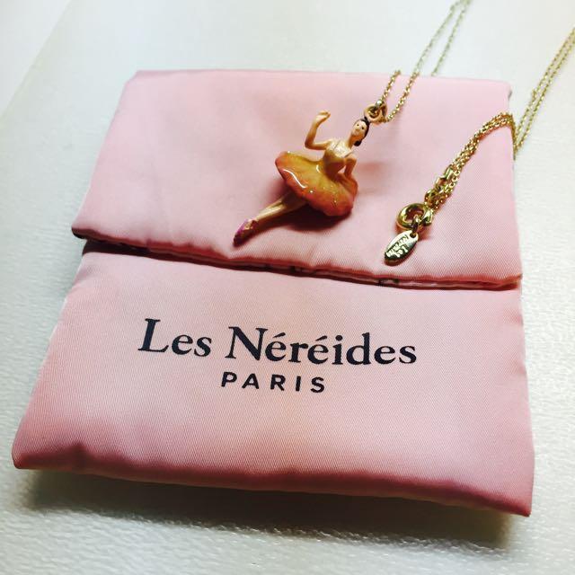 【Les Nereides】法國牌品-芭蕾女伶項鍊 正品非仿貨