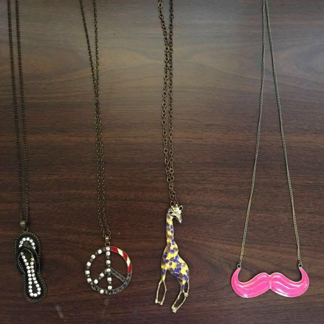 Long Necklace Bundles 💗