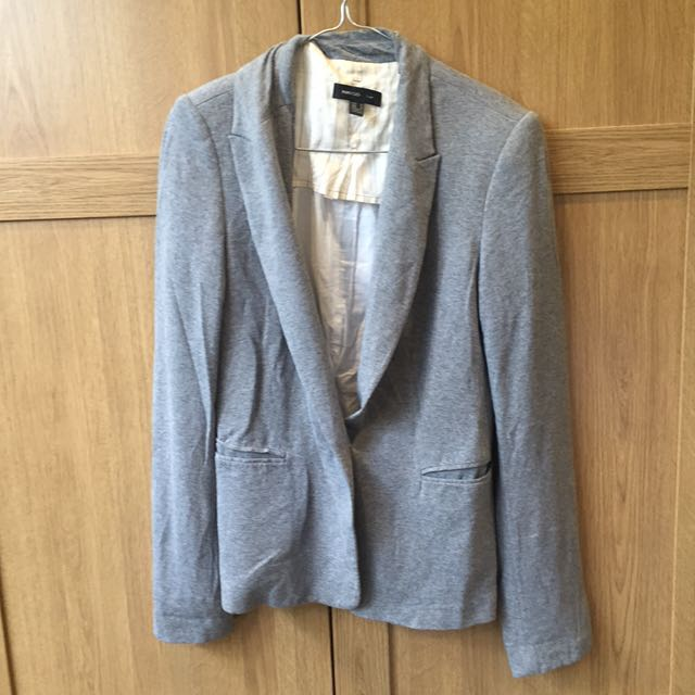 Mango Suit Blazer Size Medium