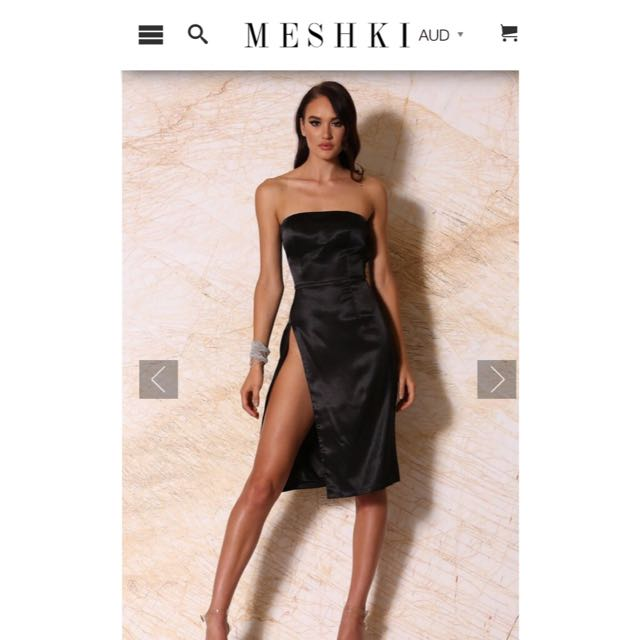 SALE! Meshki Strapless Dress