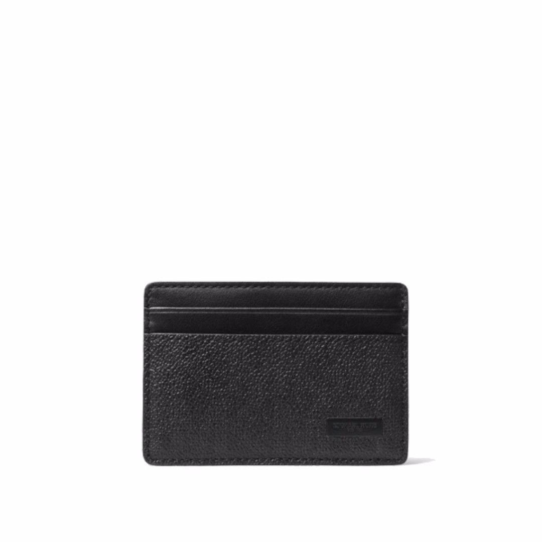 e5acb83435ea michael kors jet set mens card case with money clip black, Men's ...