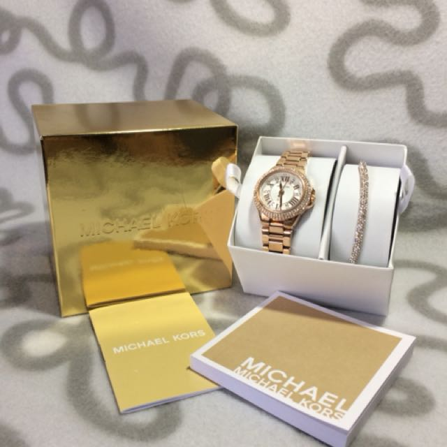 Michael Kors Limited Edition Watch with bracelet