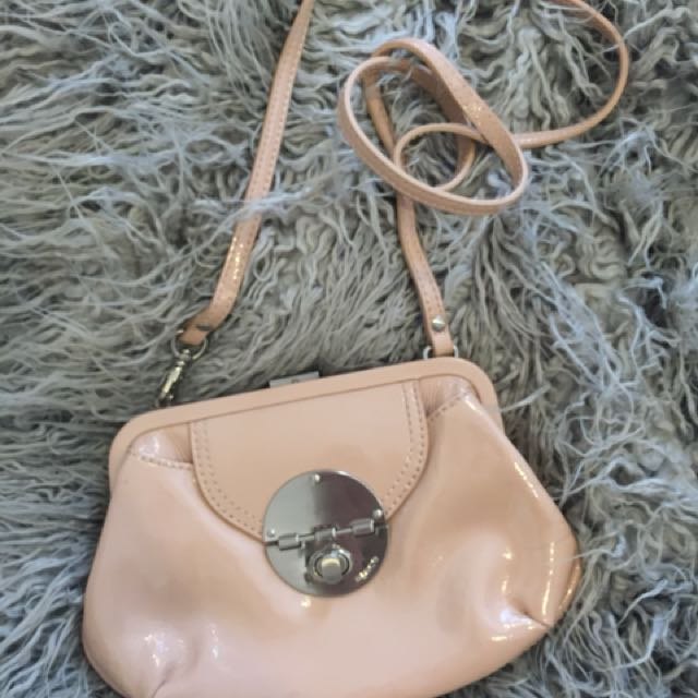 Mimco Nude Clutch Sling Bag