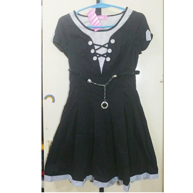 (Bnew)Mogao J-style dress black 1