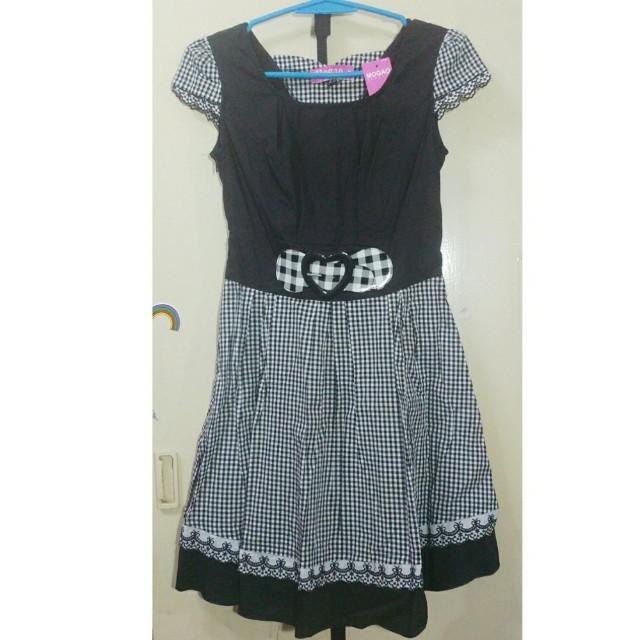 (Bnew)Mogao J-style dress black 2