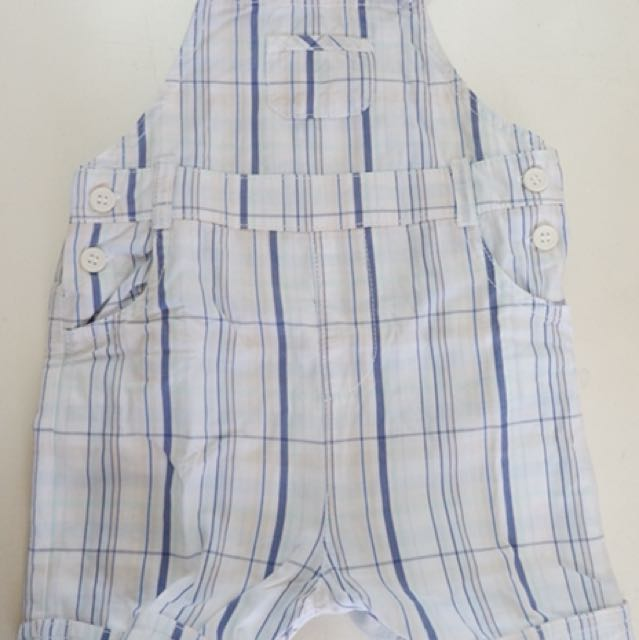 Mothercare Overall Short Pants