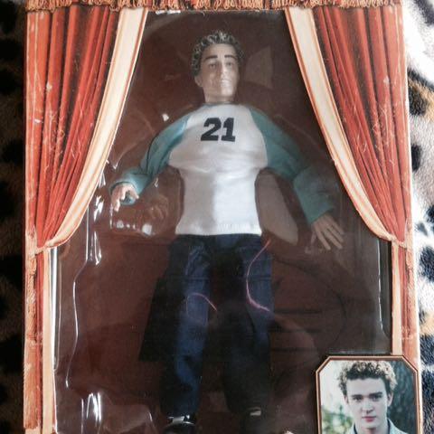 NEW Justin Timberlake Doll