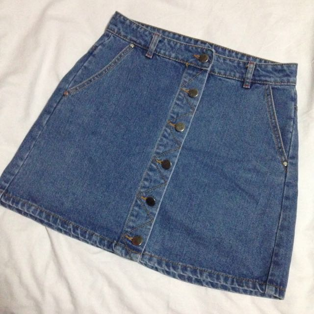 New Look denim skirt